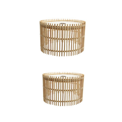 Colgante Malaca Bambu - Natural chic - Mediterraneo - Liderlamp (4)