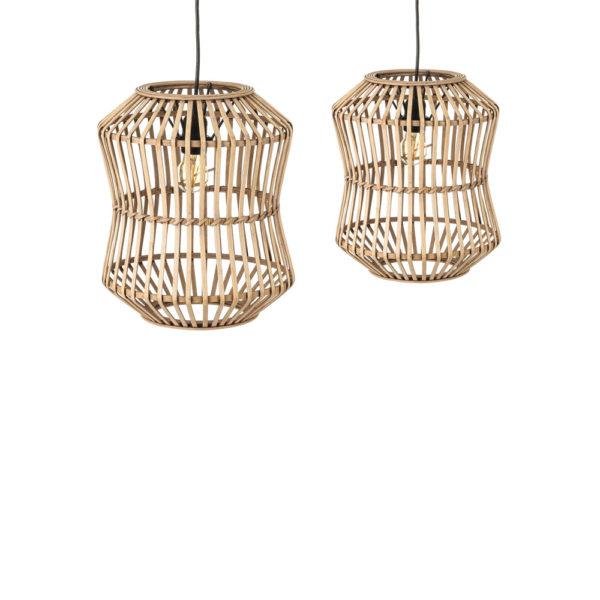 Colgante Manila – fibra natural – bambu – Ixia – Natural Chic – Liderlamp (6)