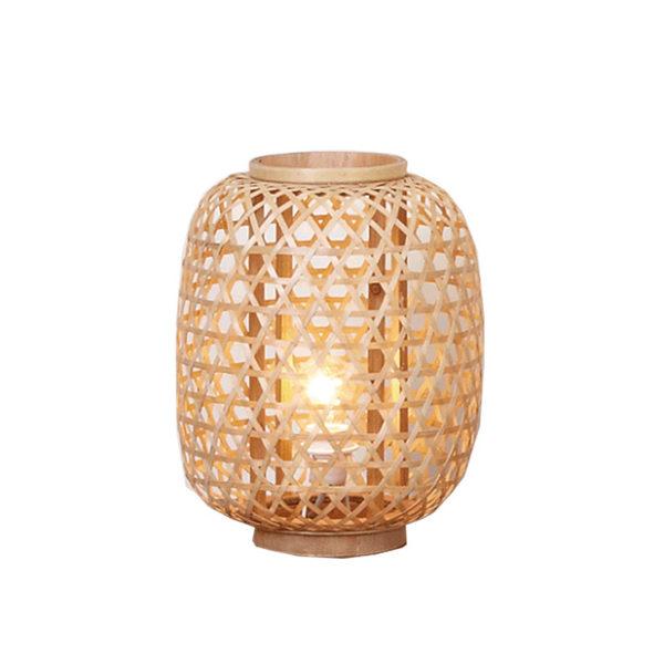 Sobremesa Balut Bambú – Natural Chic – trenzado – Liderlamp (3)
