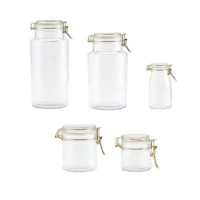 Bote Vario - Almacenaje cocina - House Doctor - Cristal y silicona - Liderlamp (2)