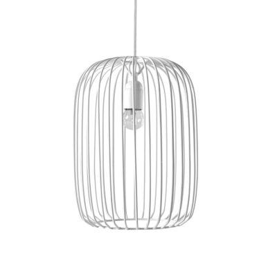 Colgante Marella - jaula blanca - diseno escultorico - Serax - Liderlamp