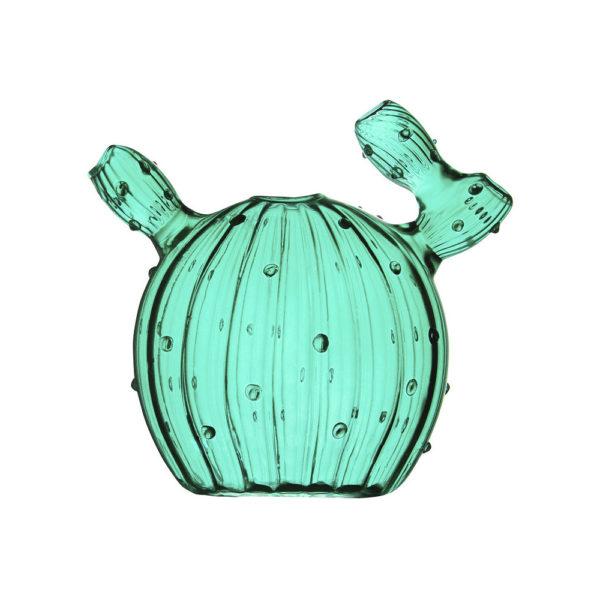 Jarron Cactus Dark Green – cristal verde – Klevering – Liderlamp