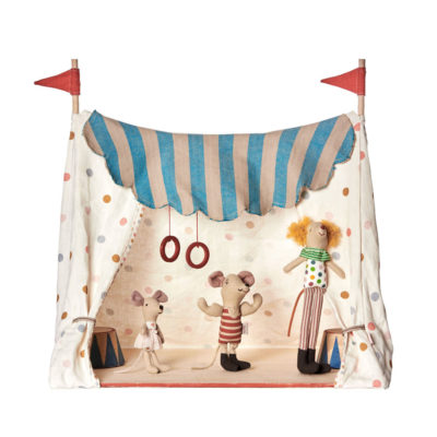 Carpa de circo y 3 ratones - Maileg - decoracion infantil - Liderlamp