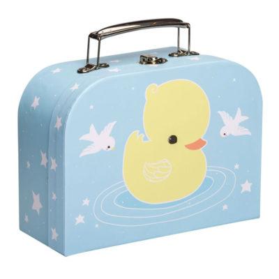 Maletin patito - carton reciclado - ilustracion - A Little Lovely Company (2)