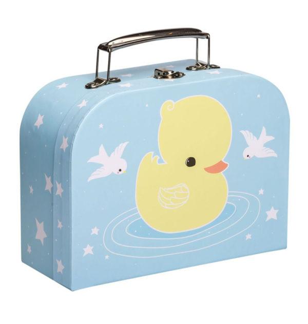 Maletin patito – carton reciclado – ilustracion – A Little Lovely Company (2)