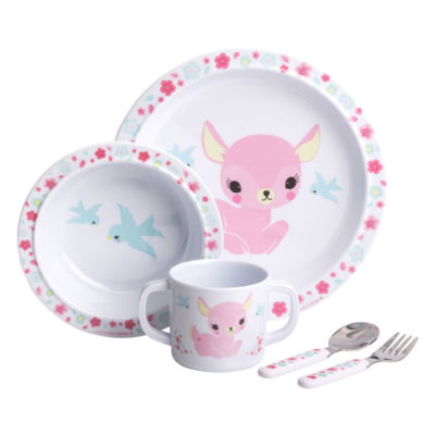 Mini vajilla - cervatillo - Dinner Set - A Little Lovely Company - Liderlamp (1)