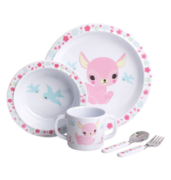 Mini vajilla – cervatillo – Dinner Set – A Little Lovely Company – Liderlamp (1)