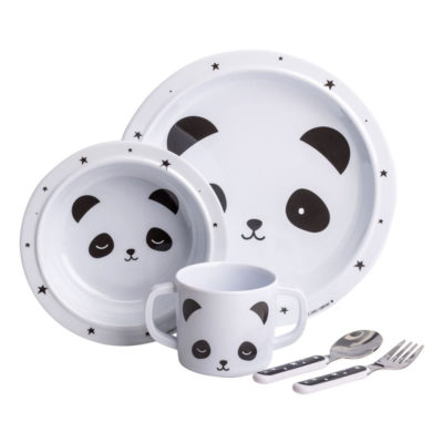 Mini vajilla - panda - Dinner Set - A Little Lovely Company - Liderlamp (1)