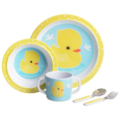 Mini vajilla - patito - Dinner Set - A Little Lovely Company - Liderlamp (2)