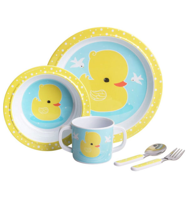 Mini vajilla – patito – Dinner Set – A Little Lovely Company – Liderlamp (2)