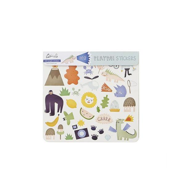 Pegatinas Playpa Sticker – Papelería – Elli Ella – Juguetes – Liderlamp