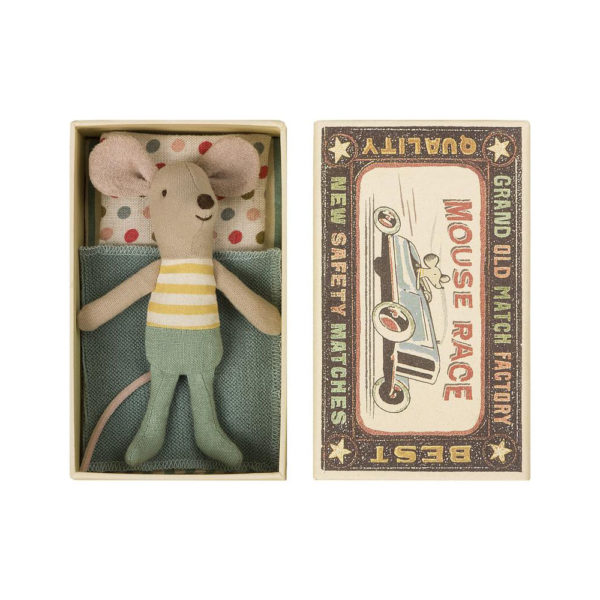 Raton – Little brother – Caja de cerillas – Maileg – decoracion infantil – Liderlamp