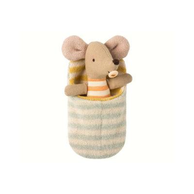 Raton en saco de dormir - Maileg - decoracion infantil - juguetes - munecos - Liderlamp