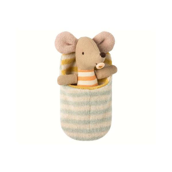 Raton en saco de dormir – Maileg – decoracion infantil – juguetes – munecos – Liderlamp