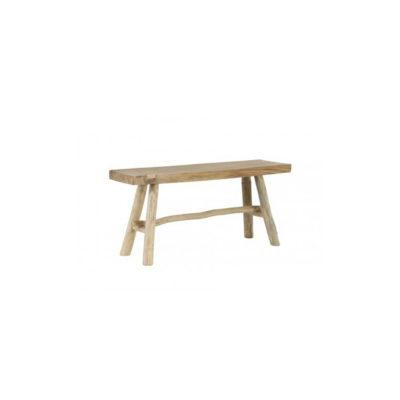 Banco de madera Gamby - decoracion - recibidor - mueble auxiliar - Liderlamp