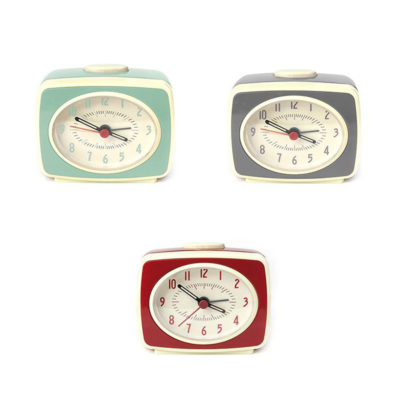 Despertador retro - mini - decoracion vintage - reloj - Liderlamp (1)