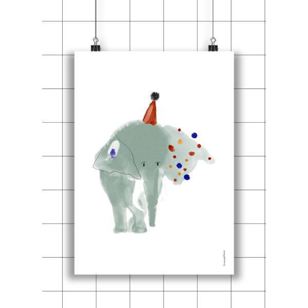 Lamina Bruno – Amayadeeme – ilustracion – decoracion infantil – Liderlamp