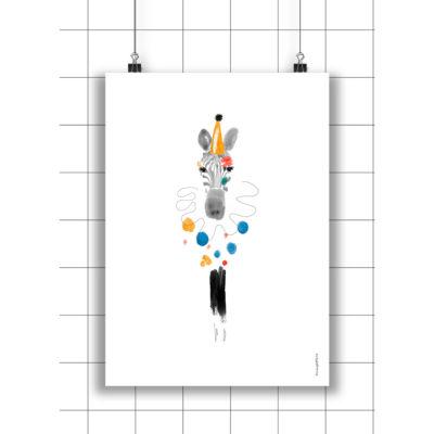 Lamina Carmen - Amayadeeme - ilustracion - decoracion infantil - Liderlamp