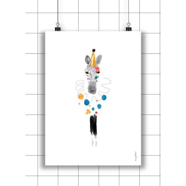 Lamina Carmen – Amayadeeme – ilustracion – decoracion infantil – Liderlamp