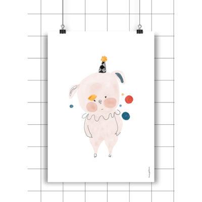 Lamina Lola - Amayadeeme - ilustracion - decoracion infantil - Liderlamp