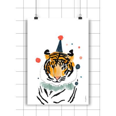 Lamina Lucas - Amayadeeme - ilustracion - decoracion infantil - Liderlamp
