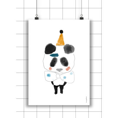 Lamina Ricardo - Amayadeeme - ilustracion - decoracion infantil - Liderlamp