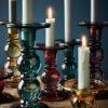 Candelabro de cristal – mini – decoracion velas – adornos – Liderlamp (5)