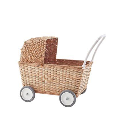 Carrito natural - Juego infantil - Juguetes tradicionales - Olli Ella - Liderlamp (1)