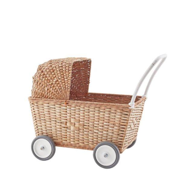 Carrito natural – Juego infantil – Juguetes tradicionales – Olli Ella – Liderlamp (2)