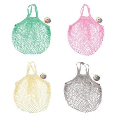 Brigitte - Bolsa de malla - Shopping bag - Algodon - estilo frances - Liderlamp (1)