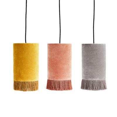 Colgante Puce-y--lampara-colgante---terciopelo---flecos---Liderlamp (2)