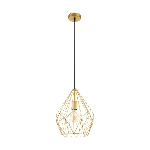 Colgante Youde – Lampara de metal – Diamante – Estilo industrial – Liderlamp (2)