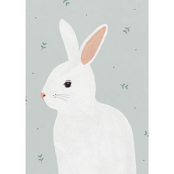 Lamina Conejo – habitacion infantil – Hermano Gato – Liderlamp