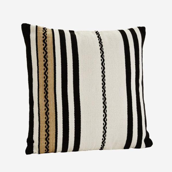Cojin chenilla – flecos de lana – Madam Slotz – decoracion textil – Liderlamp (2)