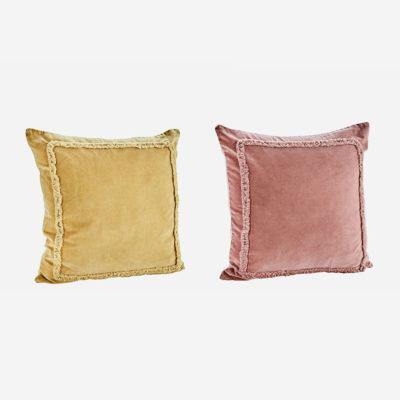 Cojin ribete de flecos - Madam Slotz - Decoracion textil - Liderlamp (1)