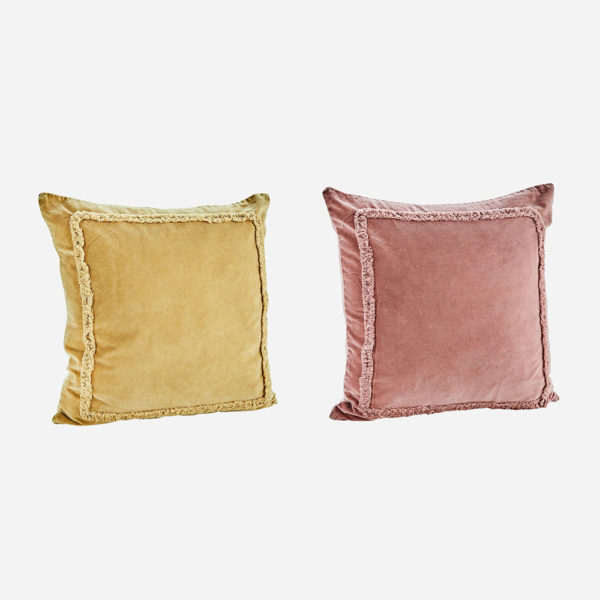 Cojin ribete de flecos – Madam Slotz – Decoracion textil – Liderlamp (1)
