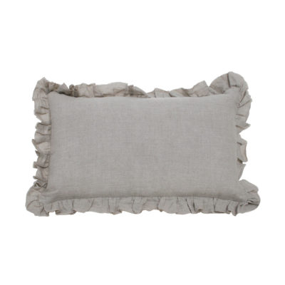 Cojin volante - rectangulo - natural - decoracion textil - natural chic - Liderlamp (2)