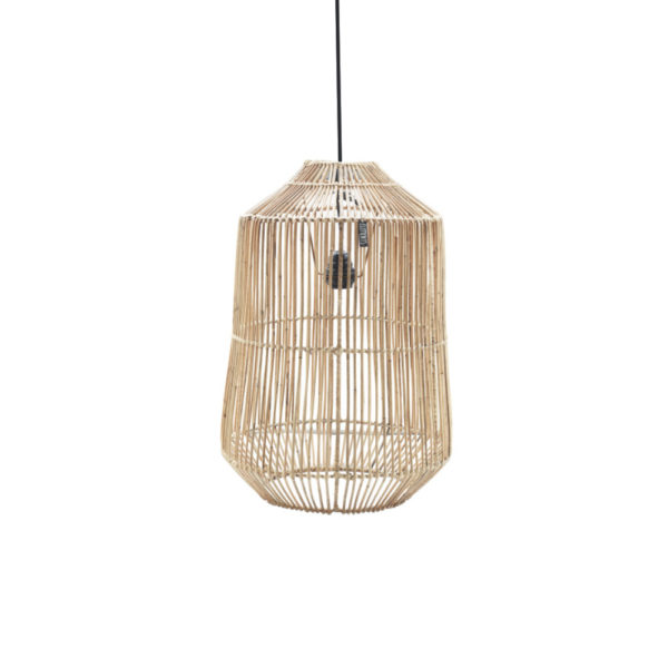Colgante Gabriela – lampara color natural – estilo colonial – Liderlamp (2)