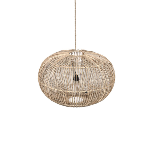 Colgante Pia – lampara color natural – estilo colonial – Liderlamp (4)