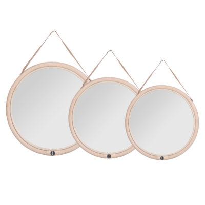 Espejo Olivia - espejo redondo - tres formatos - colgar - colonial