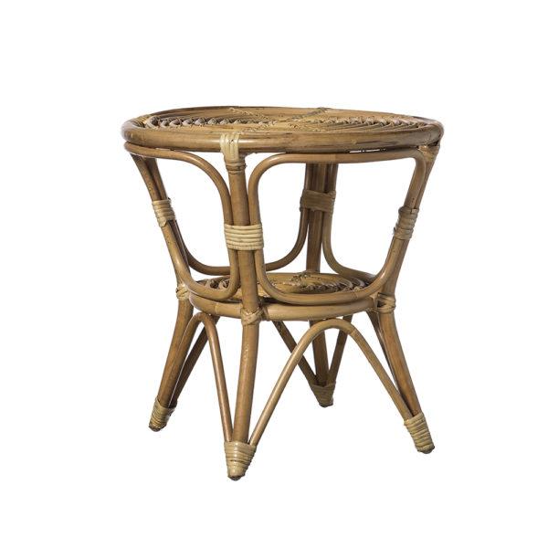 Mesa Aca – mesa de madera color natural – 50×50 – colonial – Liderlamp (2)