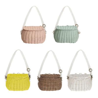 Mini Chari Bag - Olli Ella - Cesta de ratan - almacenaje - complemento - Liderlamp (1)