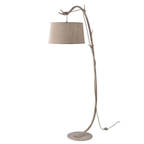 Pie de salon Dafne – estilo rustico – natural chic – rama de madera – Liderlamp (2)