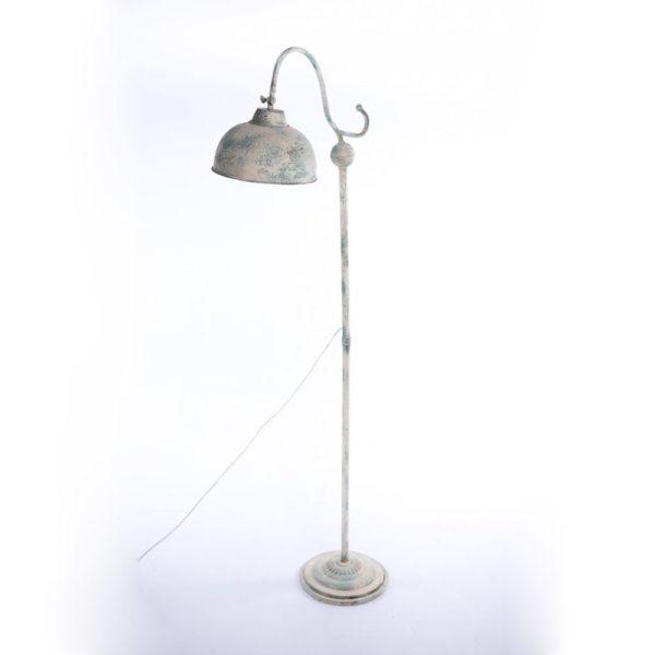 Pie de salon Gare – lampara de suelo – metal envejecido – flexo – Liderlamp (1)