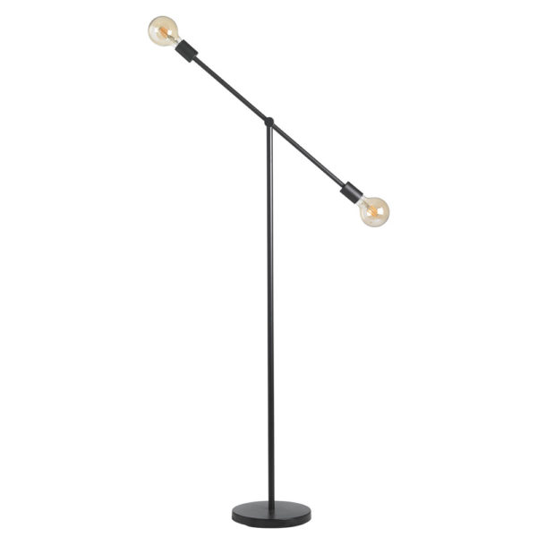 Pie de salon Planets – metal – bombilla al aire – industrial – mid century – Liderlamp