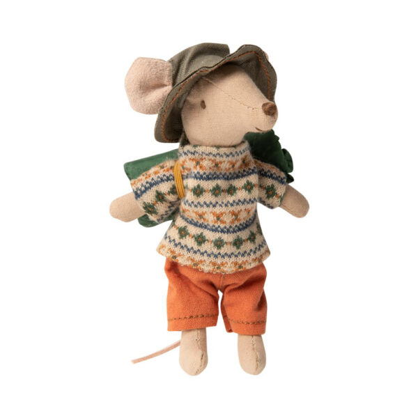Raton excursionista – Little brother – Maileg – juguetes tradicionales – Liderlamp (1)