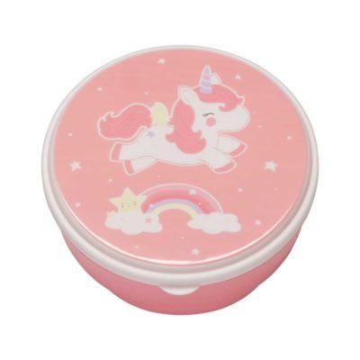 Snack box - Unicornio y arcoiris - Tartera - Merienda infantil - Liderlamp (5)