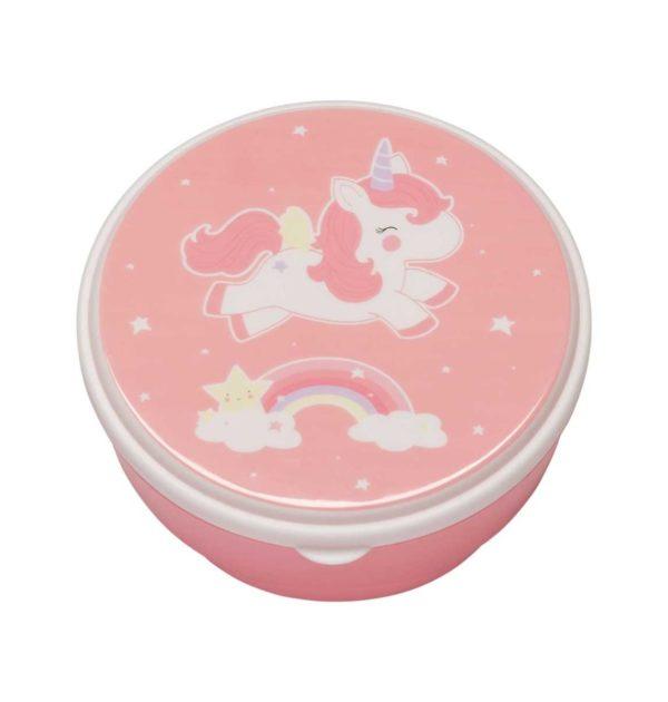 Snack box – Unicornio y arcoiris – Tartera – Merienda infantil – Liderlamp (2)