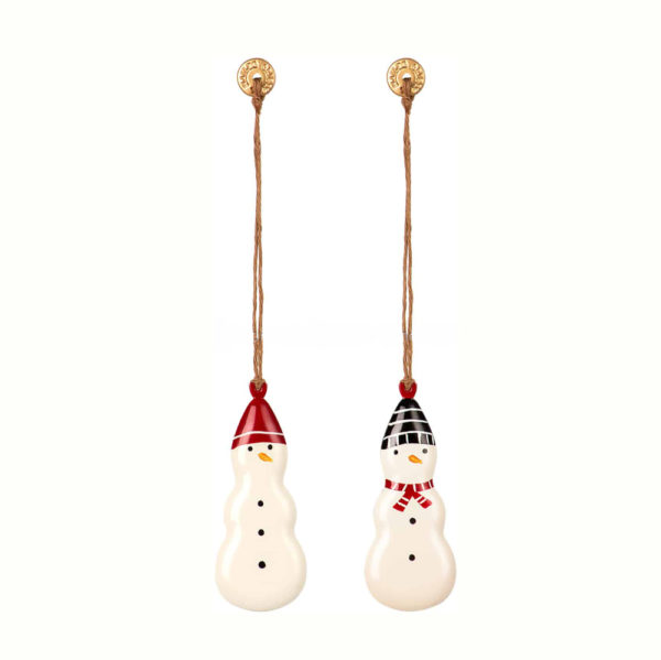 Adorno navideno - Muneco de nieve - decoracion arbol - original - Maileg - Liderlamp