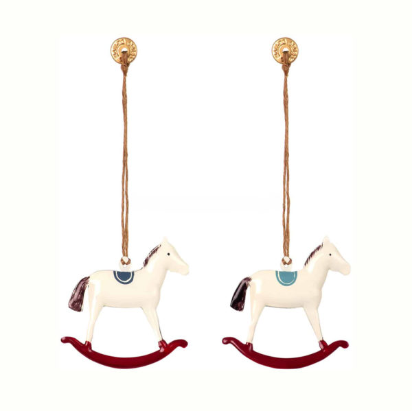 Adorno navideno – caballito – decoracion arbol – original – Maileg – Liderlamp